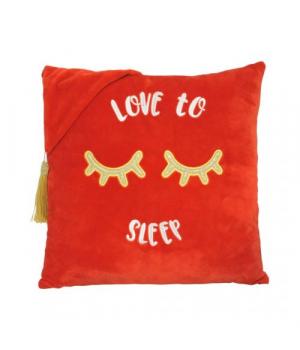 """[ПД-0367] Подушка """"Love to sleep"""", Tigres"""