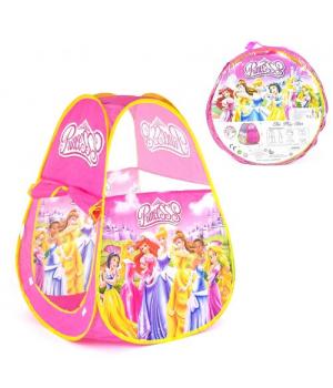 45178 [HF012] Палатка детская Принцессы HF 012 (72/2) 70х70х90 см, в сумке [ПВХ сумка]