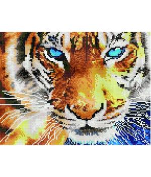 """Алмазная мозаика """"Взгляд тигра"""" EJ496"""
