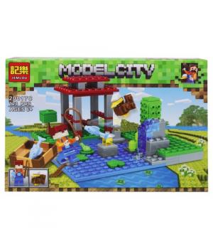 "Конструктор ""Minecraft: Озеро"", 123 детали 20017A-F"