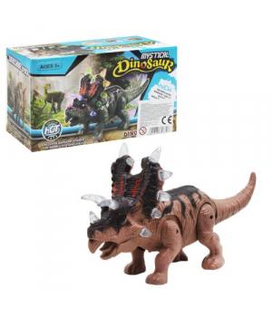 Игрушка динозавр интерактивный, свет, звук, движение