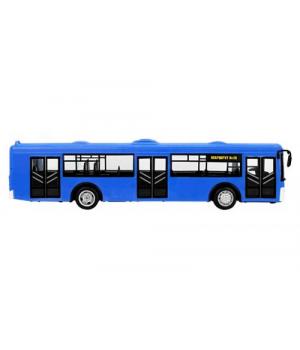 Игрушка автобус МАЗ, синий, свет, звук