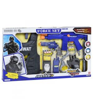 Детский полицейский набор с автоматом и бронежилетом, Force Set