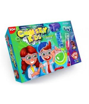 """Большой набор для опытов """"Chemistry Kids"""" (укр) CHK-01-02U"""