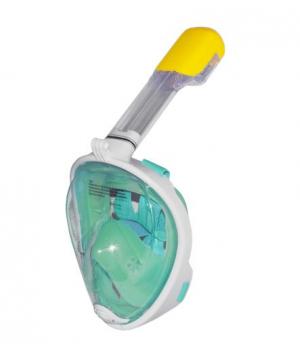 Маска для снорклинга на все лицо, (зеленая), L/XL, HC190734
