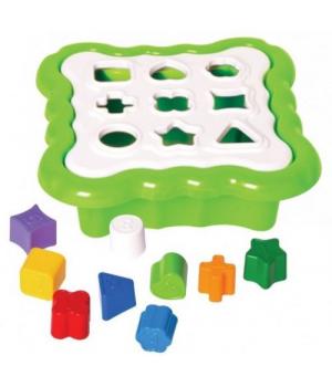 Игрушка сортер с геометрическими фигурками, Tigres