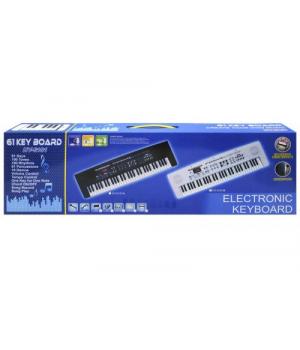 Пианино с микрофоном и зарядкой 6101A