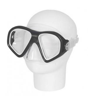 Детская маска для плавания, от 14 лет, XXL, серый, Intex