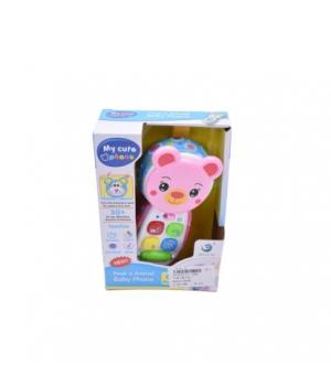 Игрушка мобильный телефон (розовый) LT-3983/6
