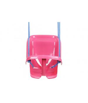 Качель для малышей подвесная, до 20 кг, Технок (розовая)
