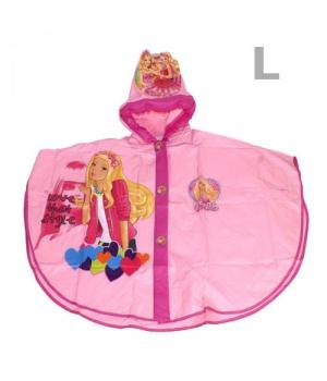 Детский дождевик с капюшоном Барби L CL1732