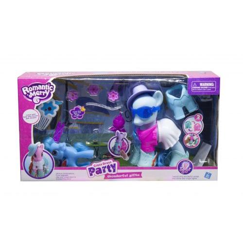 Пони в одёжке (голубой) 88468