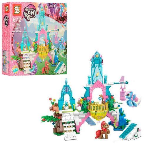 """Детский конструктор """"My Little Pony - Май Литл Пони: Замок"""" (359 деталей) 1096"""