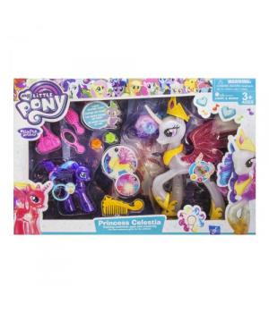 """Игровой набор """"My Little Pony: 2 пони с аксессуарами"""" (белый) 1092"""