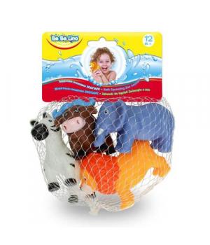 """Набор игрушек для ванной """"Животные"""" 58004"""