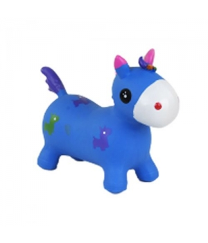 Прыгун игрушка Единорог, (синий) C37880