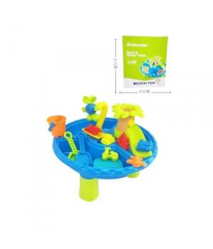 """Детский столик для песка """"Beach Toy"""" 22 детали"""