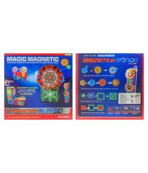 Конструктор магнитный для детей, 37 деталей, 1576794_JH687