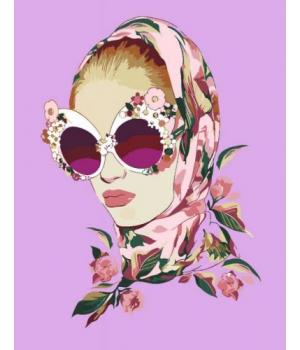 """Картина по номерам """"Цветочный образ"""" ★★☆ N00013421 35х45 см"""