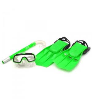 Детский набор для ныряния, (маска,ласты,трубка), Размер:34-38