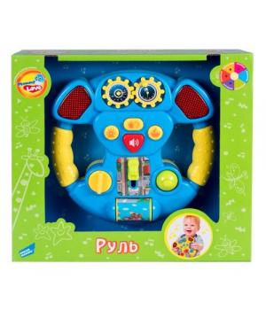 Игрушка руль с экраном, музыкальный, Mommy Love