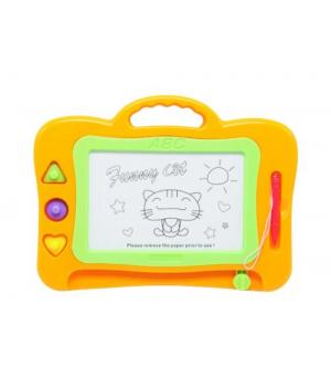 Детская доска для рисования, оранжевый