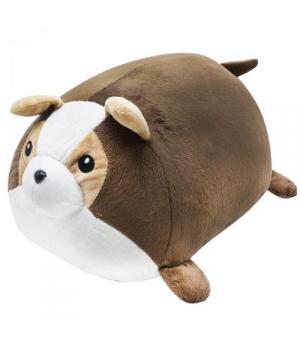"""Мягкая игрушка валик """"Собачка"""", коричневый 113039"""