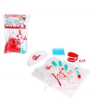 """Игровой набор стоматолога детский, """"Dentist set"""", 10 деталей 7358"""