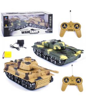 """Игрушечные танки на радиоуправлении """"War Tank"""" 369-23"""
