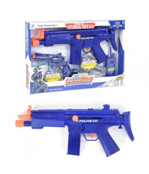 Детский набор полицейского с автоматом и пистолетом (звук.эффекты), Police set