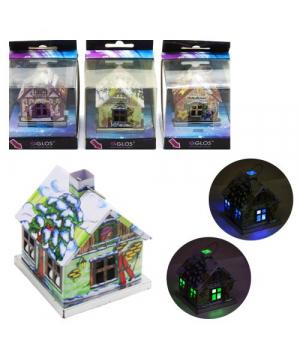 """Новогодний декор """"Светящийся домик"""" GL6001"""
