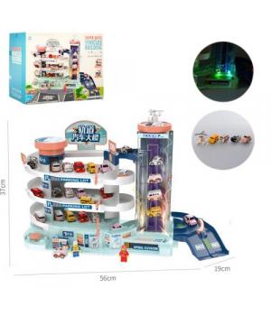 Детский игровой Гараж с машинками, T103-11A
