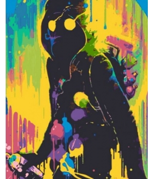 "Картина по номерам ""ART IS NOT A CRIME"" RB-0050 40х50 см"