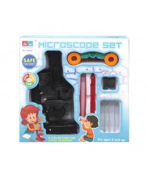 Детский микроскоп черный 3103A