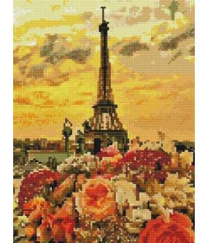 "Алмазная мозаика ""Закат в Париже"" EJ1151"