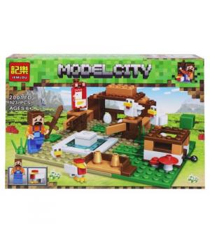 "Конструктор ""Minecraft: Ферма"", 123 детали 20017A-F"