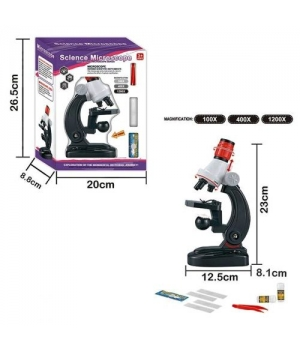 98809 [2511] Микроскоп 2511 (48/2) свет, аксессуары, на батарейках, в коробке [Коробка]