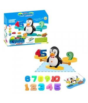 """Балансир игрушка для детей,  """"Математические весы: Пингвинчик"""" ZG987"""