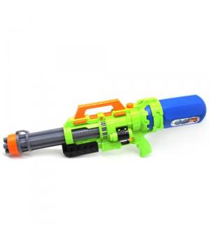Детский водный пистолет с насосом, зеленый, 69 см