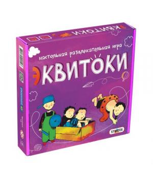 """Детская настольная игра """"Эквитоки"""", 112 карточек"""