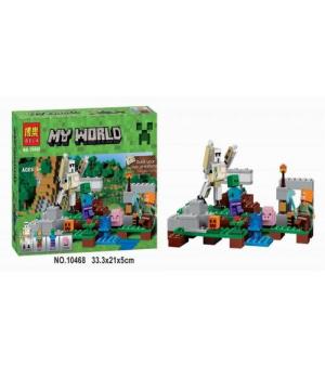"""Конструктор """"Minecraft: Железный голем"""", 220 деталей 10468"""