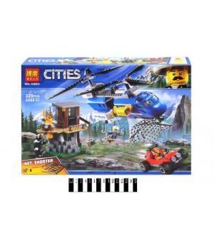 """Конструктор из серии """"Cities"""" """"Погоня в горах"""" (325 деталей) 10863"""