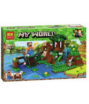 """Детский конструктор """"My World Minecraft - Майнкрафт - Майнкрафт: Дрессировщик"""", 226 дет 10961"""