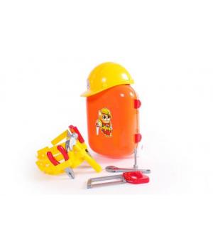 Детский набор инструментов для мальчика в чемодане ТехноК 5866