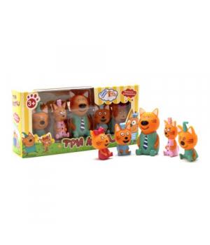 Резиновые игрушки пищалки Три кота, PT3014