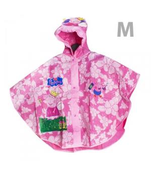 Детский дождевик с капюшоном для девочки, М CL1732
