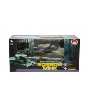 Игрушка Танк на радиоуправлении, зелёный 9343