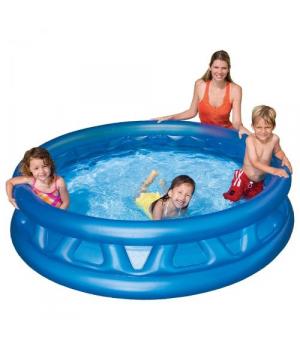 Надувной бассейн для детей от 3 лет Летающая тарелка Intex