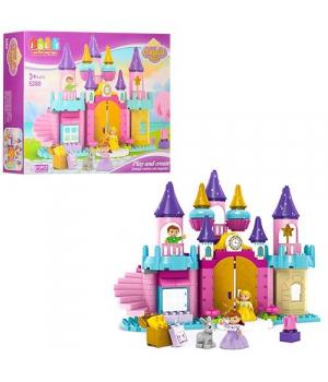 """Детский конструктор """"Замок принцессы"""", 113 дет 5280"""