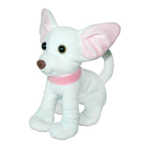 "Мягкая игрушка собака ""Чихуахуа"" (белый) СО-0095"
